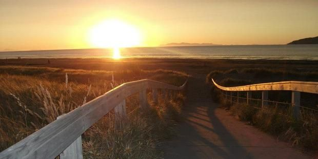 Fish and chips on Paraparaumu beach is a slice of heaven. Photo / Supplied