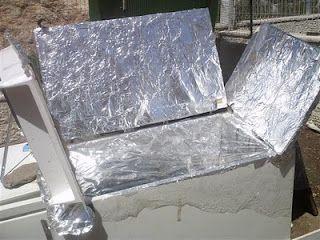 My Refrigerator Solar Cooker