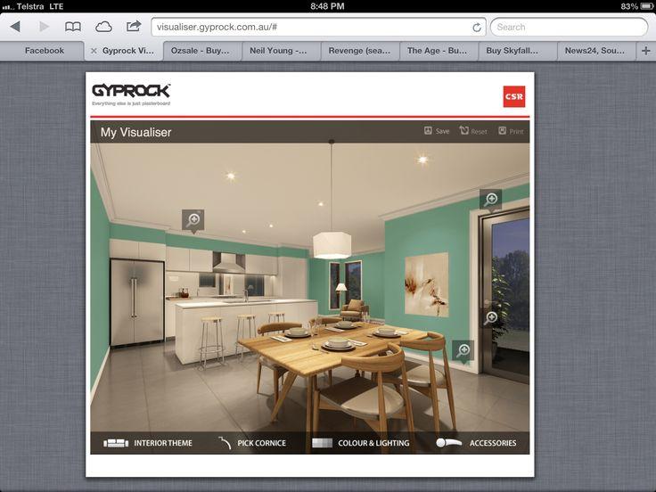 Gyprock cornice visualiser