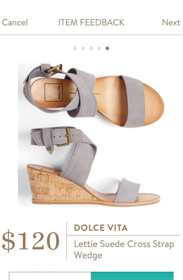 Cute sandals! I love the grey.