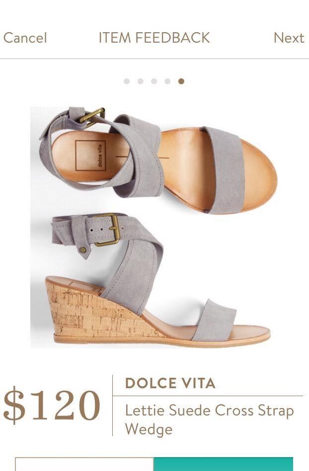 Cute sandals! I love the grey.