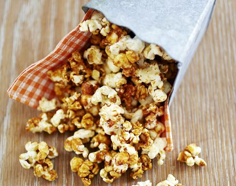 Marmite popcorn. This is fantastic, I make it ALL the time.