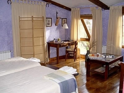 Dormitorio casa #rural Las Cavas