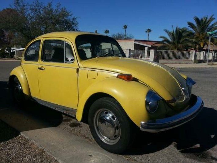 1972 VW/Volkswagen, Beetle - Coccinelle - Fusca - Kafer - Kever  4295.00 USD  1972 Volkswagen *VW* Super Beetle Bright Yellow Clean Title Runs Great -  a daily driver. It runs and drives excellent and doesn't look to bad either. Clean Title Low Miles. New Tires New Front Suspension. Runs good enough to drive it anywhere  with no problem! 1972 Volkswagen *VW* Super Beetle Bright Yellow Clean Title Runs Great -  a daily driver.It runs and drives ex ..  http://www.collectioncar...