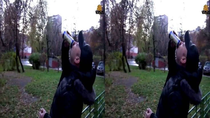 ☑ 3D-Лев Против 62 - Нужно уважать других людей и закон! .стереопара