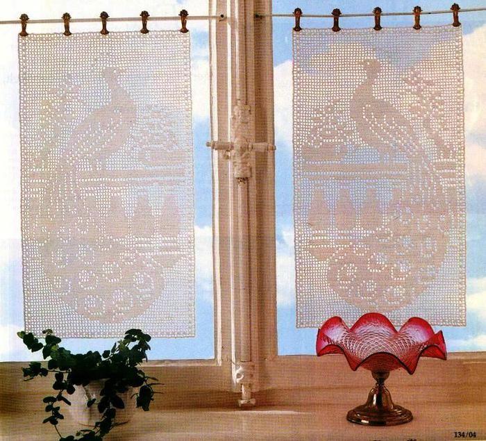 Ideas para el hogar: Cortinados tejidos