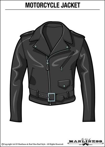 How to Wear a Leather Jacket With Style Motorcycle Jacket AOM 400