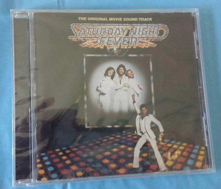 Saturday Night Fever CD Original Movie Soundtrack Remaster Bee Gees Disco NEW #Disco