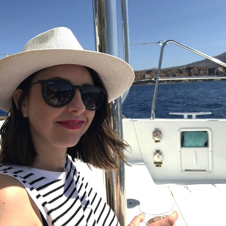 https://www.allyblog.com/home/grecian-blue Santorini Greece island fashion bloggers style summer