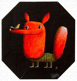 Robert Romanowicz illustration: Foxi