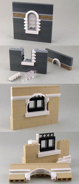 #LEGO Windows - Building Sideways