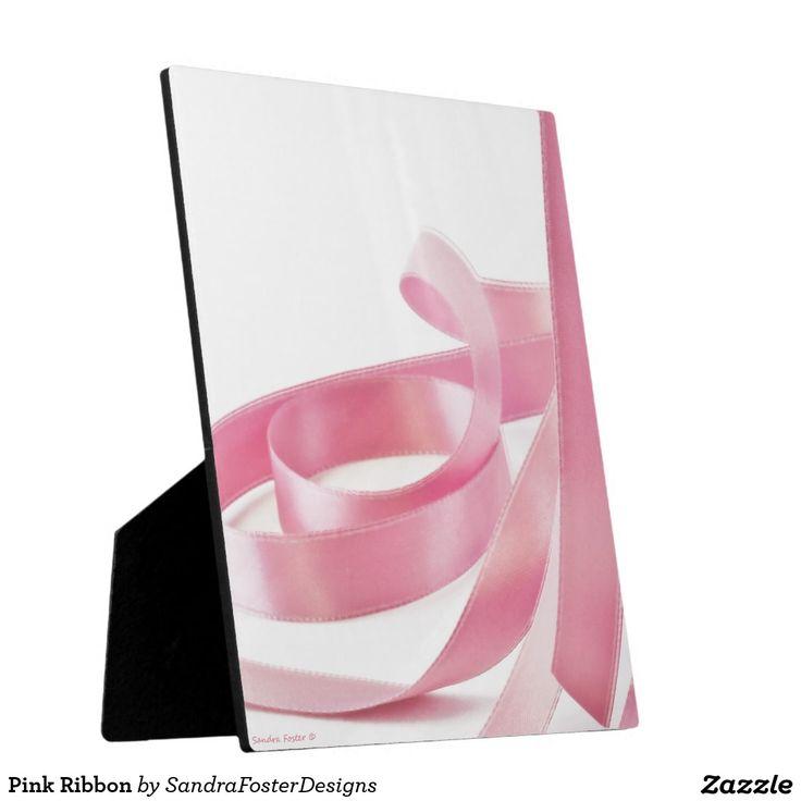 Pink Ribbon Plaques