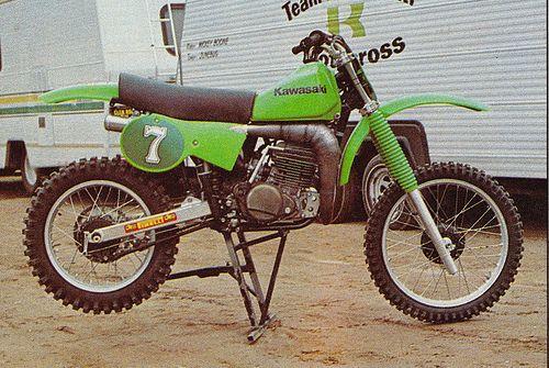 Jimmy Weinert's 1979 Kawasaki SR250 copy