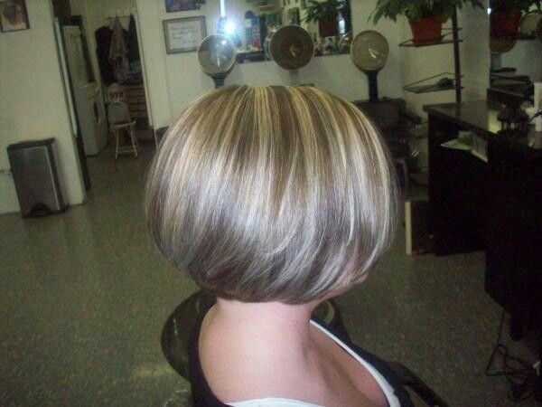 Bob Hairstyle With Highlights And Lowlights 62339 | Highlig