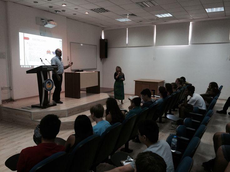 """DAÜ Makine Mühendisliği bölümü """"Amerıcan Youth Leadershıp"""" programı öğrencilerini ağırladı"""