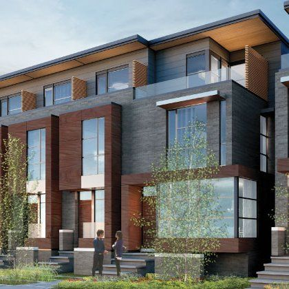 Trinity Bellwoods Townhomes In Toronto Home Pinterest Toronto Modern And Lofts