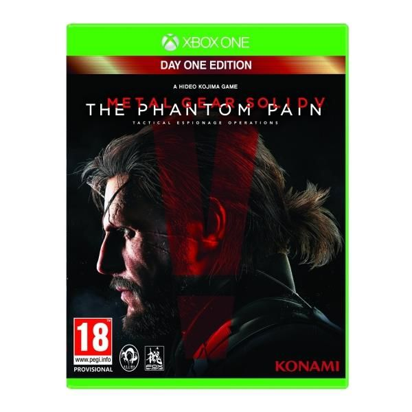 Metal Gear Solid V The Phantom Pain Day One Edition Xbox One Game | http://gamesactions.com shares #new #latest #videogames #games for #pc #psp #ps3 #wii #xbox #nintendo #3ds