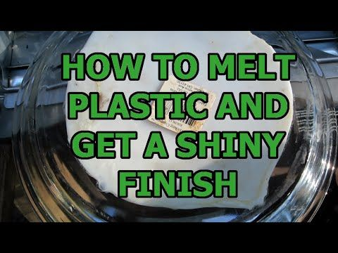 How to melt plastic bottles and get a shiny finish youtube htpe plastic recycling - How do you melt glass bottles ...