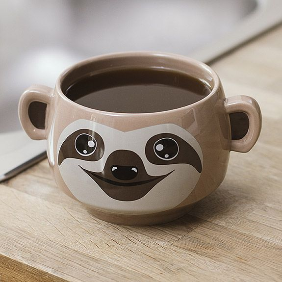Sloth Mug with ears?