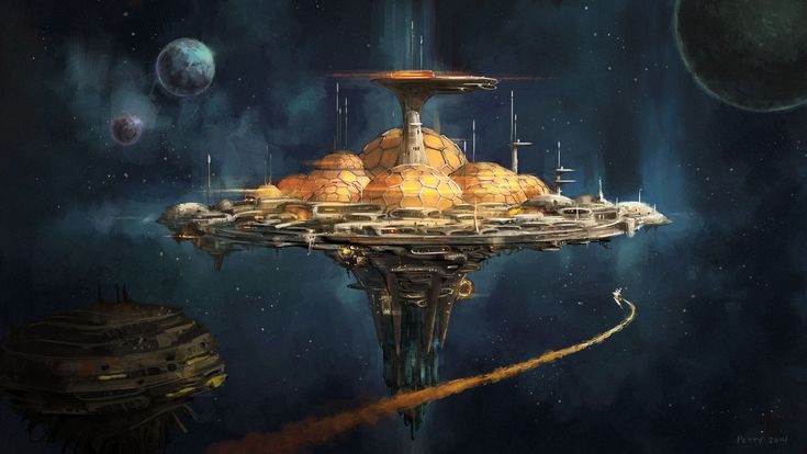 science fiction atlantis space base - photo #23