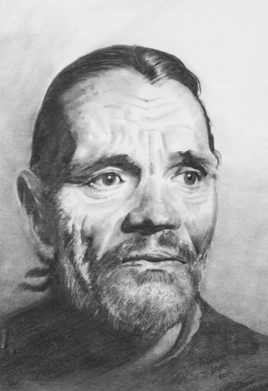 Mr. Chet Baker,  Pencil on paper,  30x40cm sold
