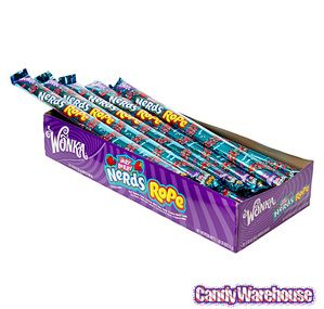 Very Berry Nerds Rope Candy Packs: 24-Piece Box