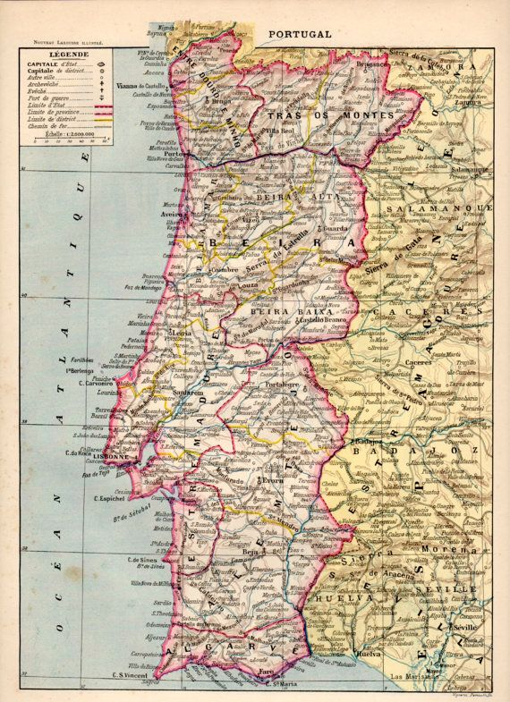 Best GO Maps Portugal Images On Pinterest Portugal Maps - Portugal map to print