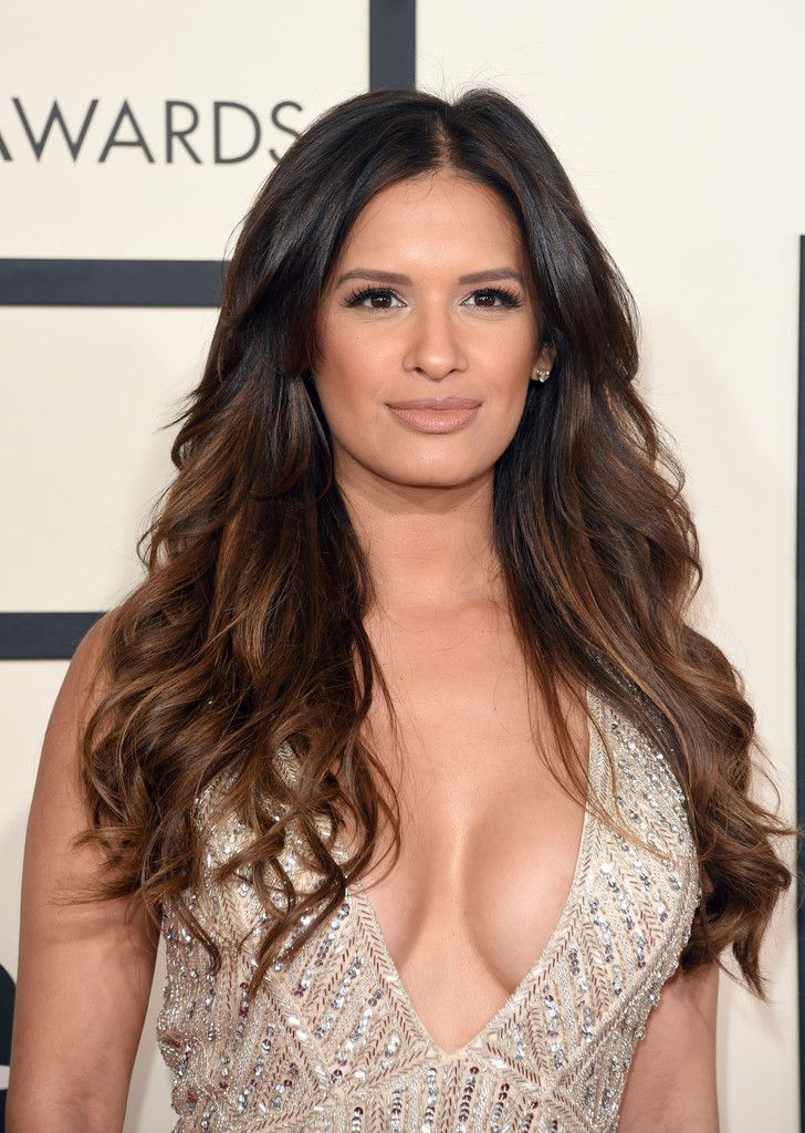Rocsi Diaz's Mega Blowout and Feathered Lashes