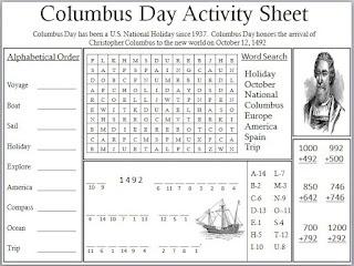 26 best Columbus Day WorksheetsPrintables images on Pinterest