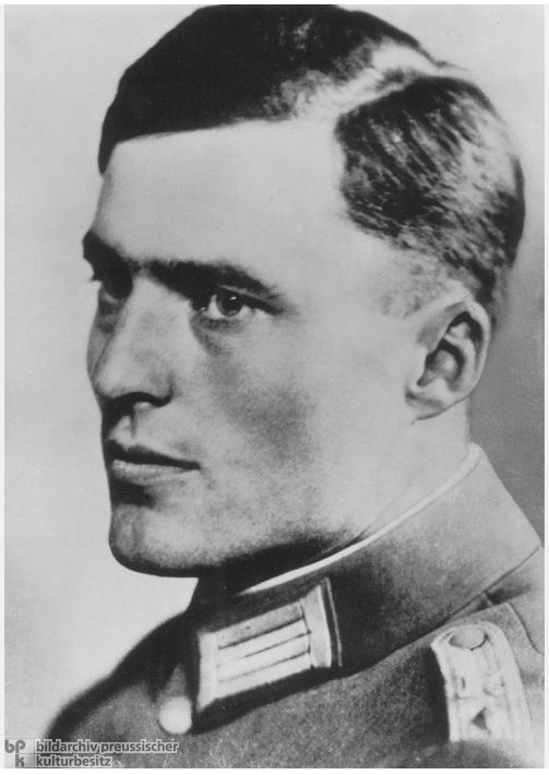 Vintage hero: Klaus von Stauffenberg was one of the main figures within the German Resistance Movement during World War II. He was put to death by the Nazis after an unsuccessful attempt to assassinate Adolf Hitler during Operation Valkyrie.