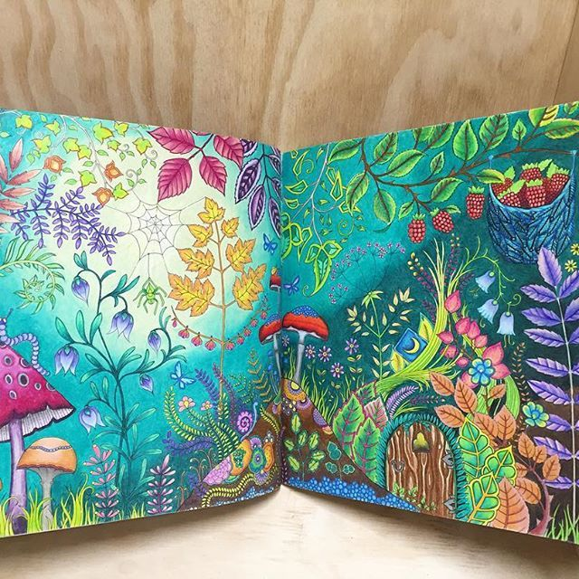 499 Best Enchanted Forest Johanna Basford Images On