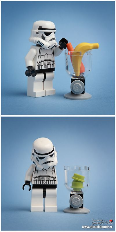 Mix it! by storm TK431| LEGO Star Wars Stormtrooper Minifig and Blender