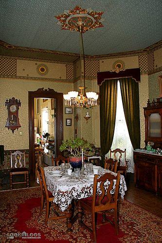 Dining Room - Restored Italianate Victorian Home Revives Neighborhood