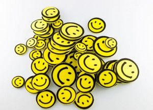 Naklejki piankowe uśmiechy