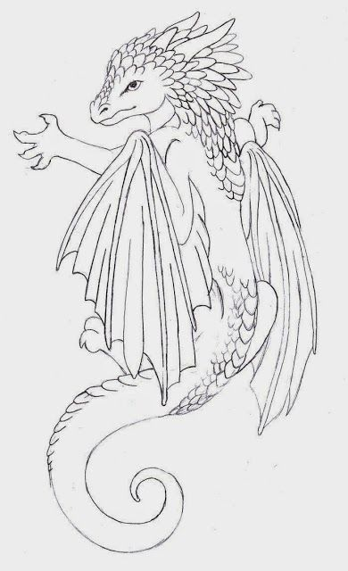 dragon tattoos for women on side | Baby dragon tattoo by ~Annikki on deviantART