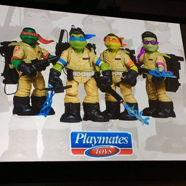 There's a lot of Ghostbusters news coming from SDCC. An animated feature a live-action movie toys comics and this. I really REALLY like the Ghostbusters and the Turtles and I love the idea of having mashup action figures. There's really cool custom ones it there and there's actually a line of Playmates Toys Mutagen Ooze Turtles (which are more or less dressed as Ghostbusters). But this this is just too weird. I do like how they captured the look of each of the original Ghostbusters including…