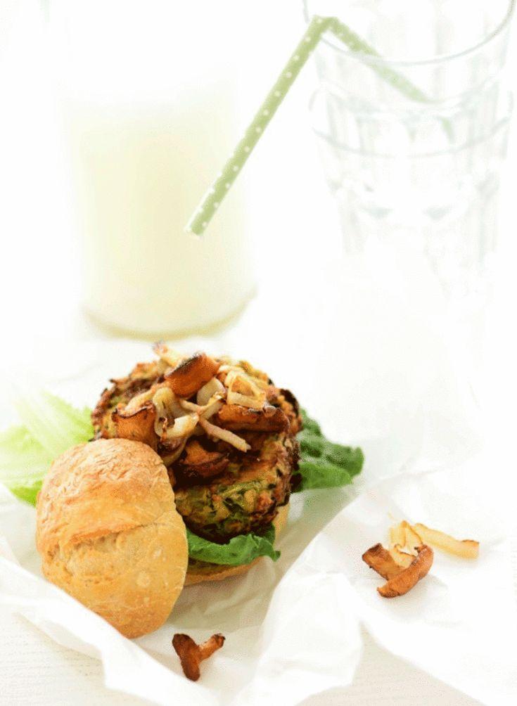 burgerbøffer af squash