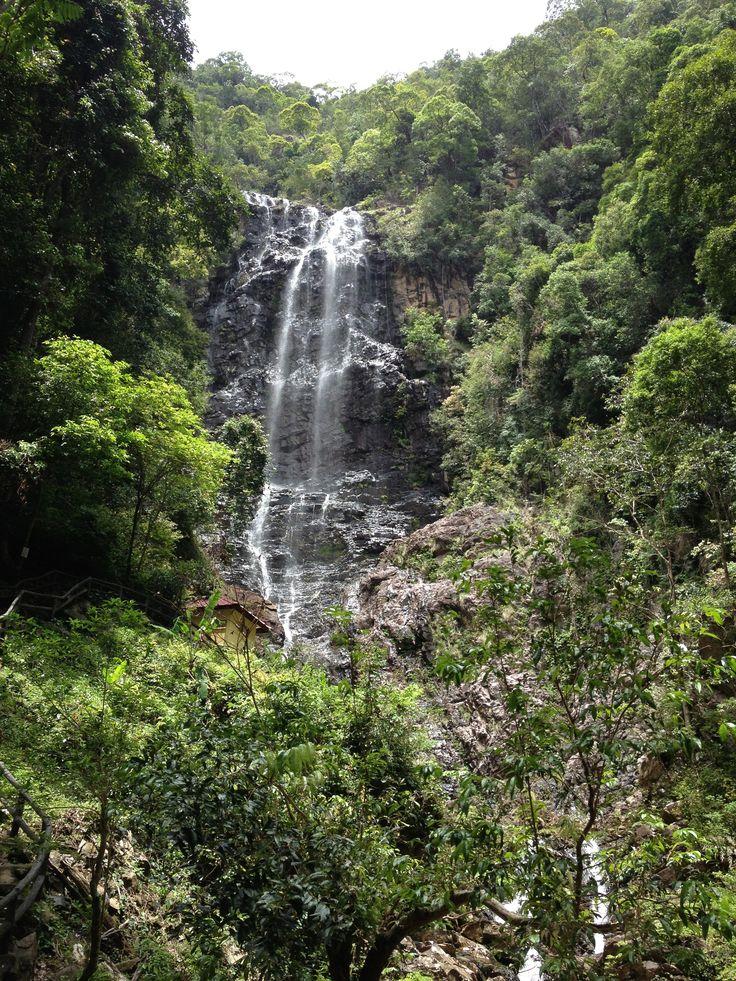 Temuan Waterfall, Langkawi Island, Kedah, Malaysia
