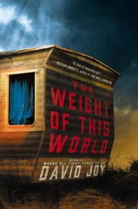 David Joy signs The Weight of This World, hosted by Linda Castillo, Thursday, March 16, 7-8 PM.