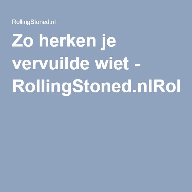 Zo herken je vervuilde wiet - RollingStoned.nlRollingStoned.nl