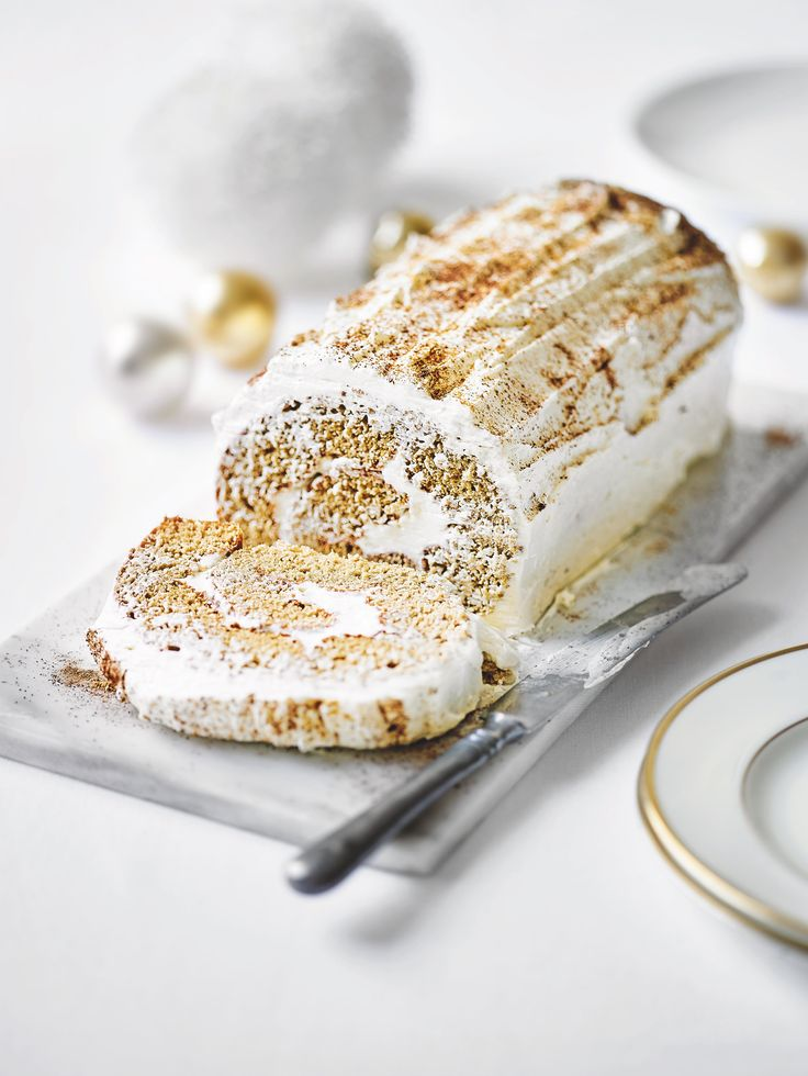 Christmas is coming! This is a delicious alternative to a classic - my  gingerbread twist on a Yule Log. Recipe  here:http://www.waitrose.com/content/waitrose/en/home/recipes/recipe_directory/m/martha-collison-sgingerbreadyulelog.html
