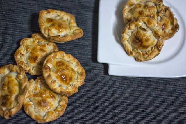 MUCHASRECETASDECOCINA: Mini pasteles de Jamón y Queso - Cooked Ham and Ch...