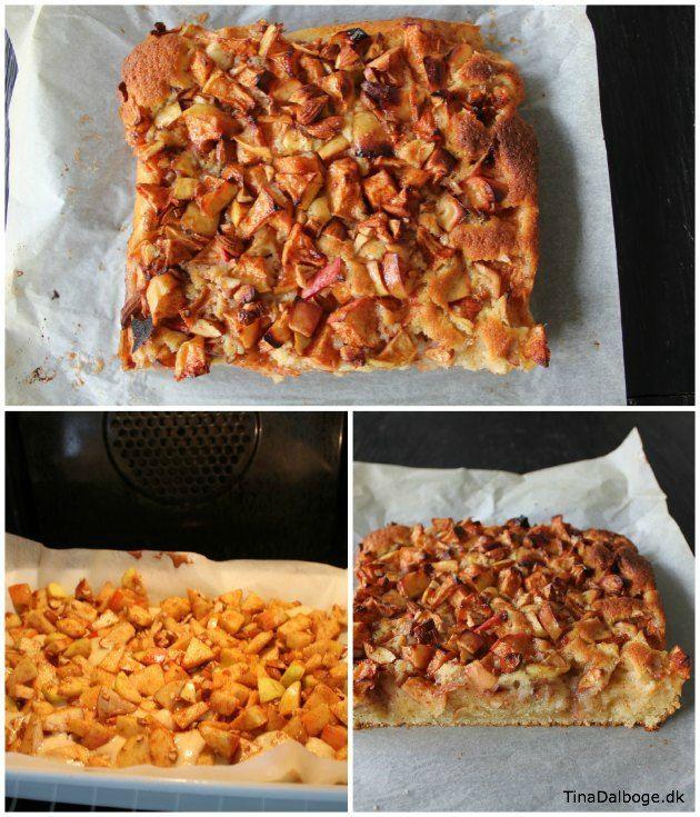 Tina Dalbøge: verdens bedste kage, nu som æblekage