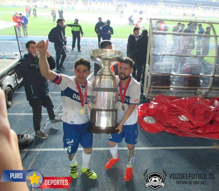 Levantando la Supercopa 2016