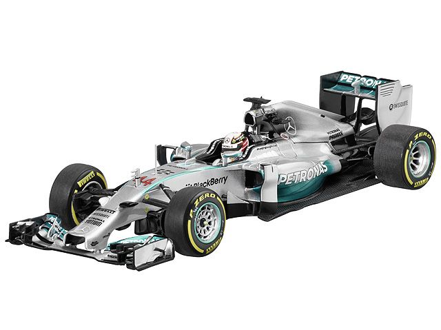 MERCEDES AMG PETRONAS Formula One(TM) Team, 2014, Lewis Hamilton  silver, Minichamps, 1:43 Part number:    B66961251 Colour:    silver Material information:    metal Material property:    painted