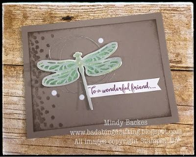 Bada-Bing! Paper-Crafting!: Display Samples - Dragonflies