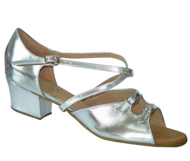 Style Mandy Silver Patent