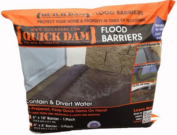 Quick Dam 5 Foot Flood Barrier $21.95
