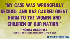 Quotes from Pro-Life Figures » Save The Storks (shared via SlingPic)