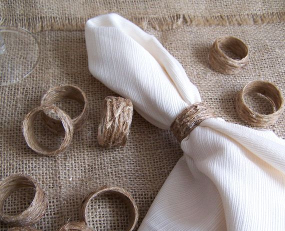 46 best Napkin Rings images on Pinterest How to fold napkins